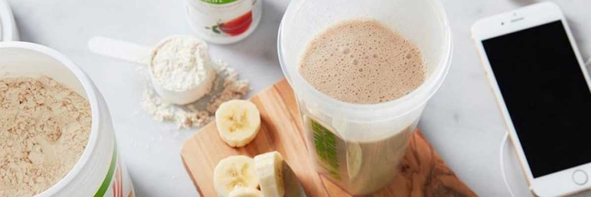 herbalife formula1 and tea for a healthy diet