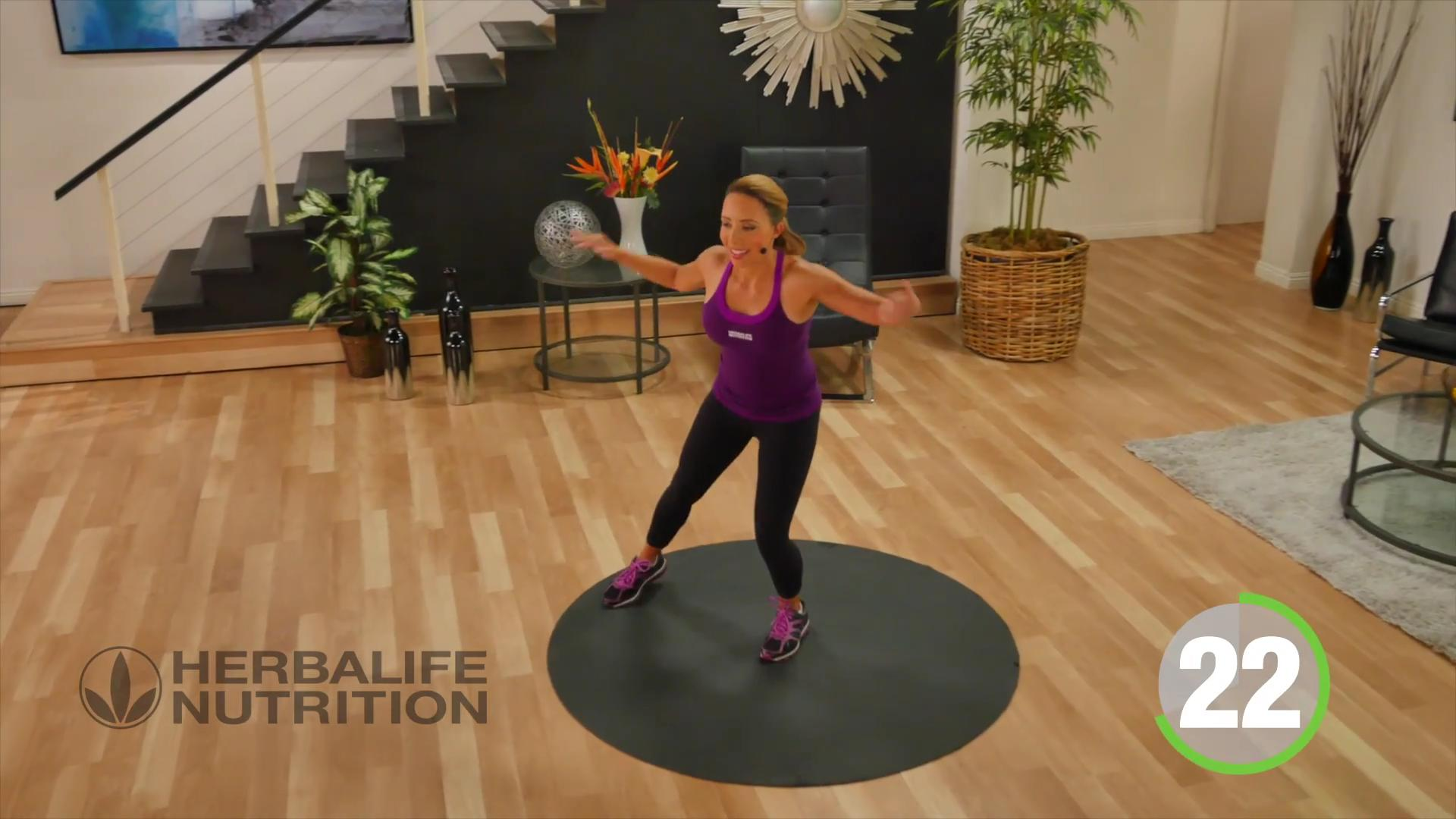 Low impact-low intensity cardio workout for beginners Samantha Clayton herbalife professional trainer Nutrition Fitness