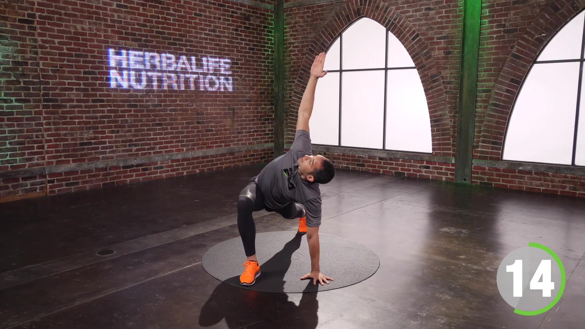 10 minutes Stretching Routine with Marc Coronel Herbalife Nutrition Professional Trainer