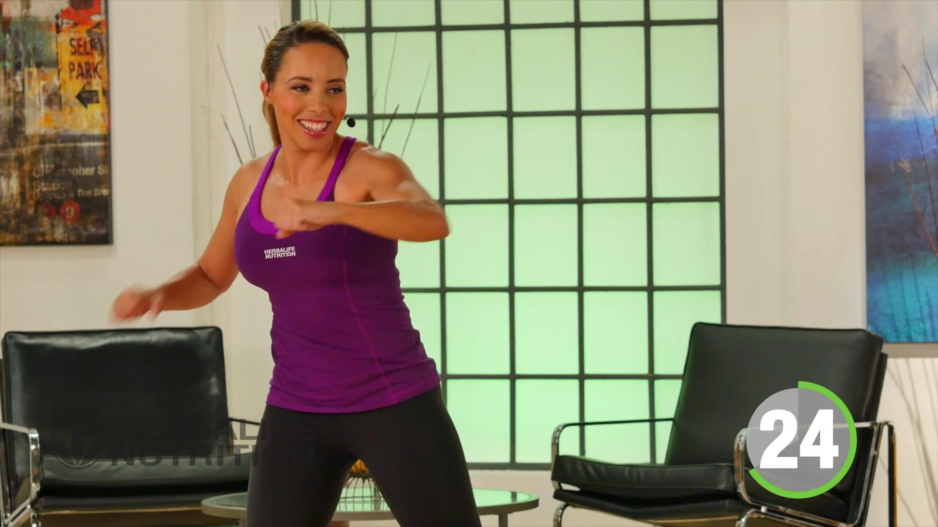 low impact cardio routine by Samantha clayton professional trainner Herbalife Nutrition gym