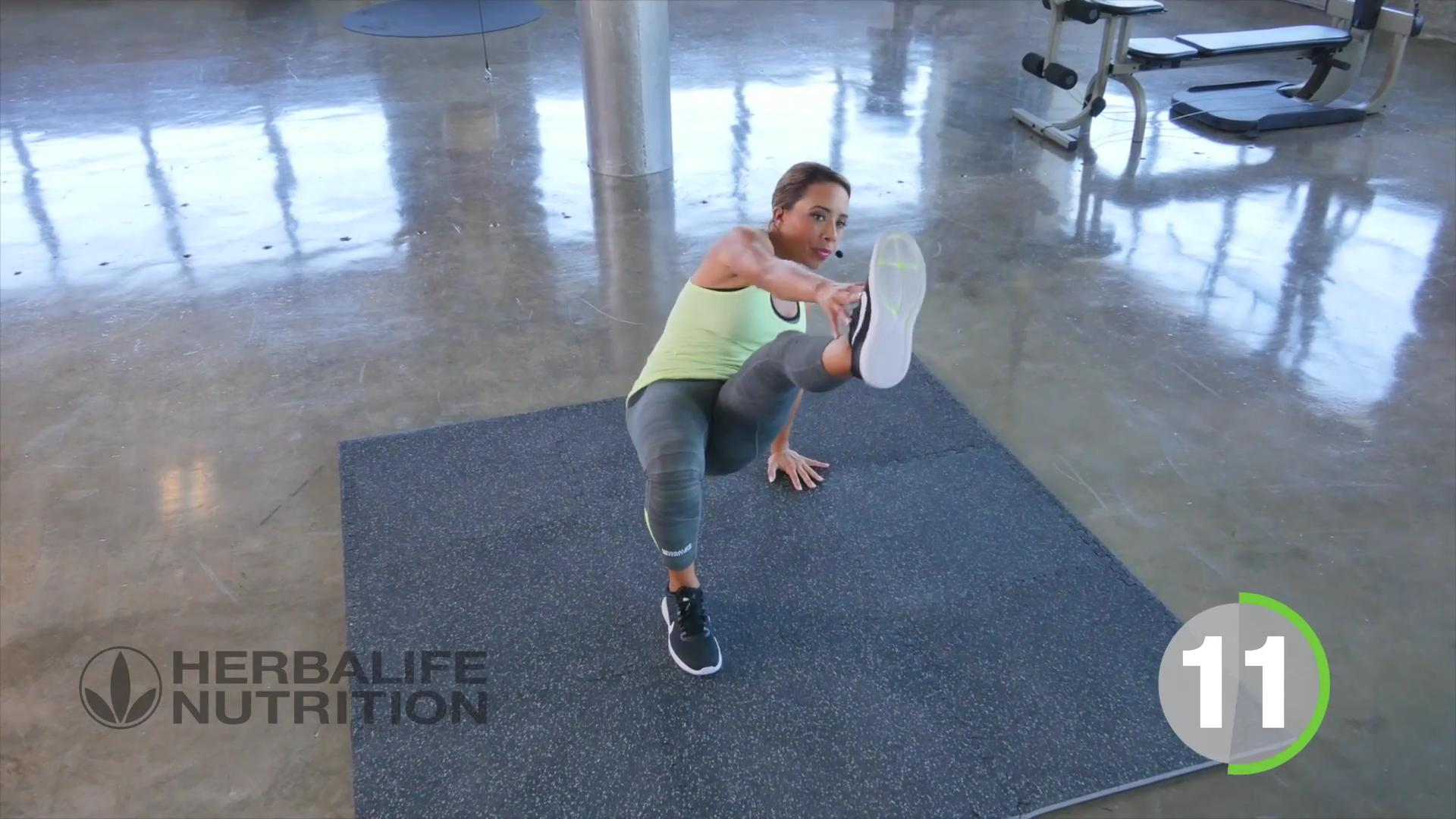 Total body shock routine with Samantha Clayton