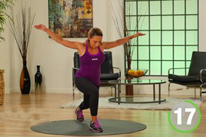 total body trainer body optimizer routine with Samantha clayton